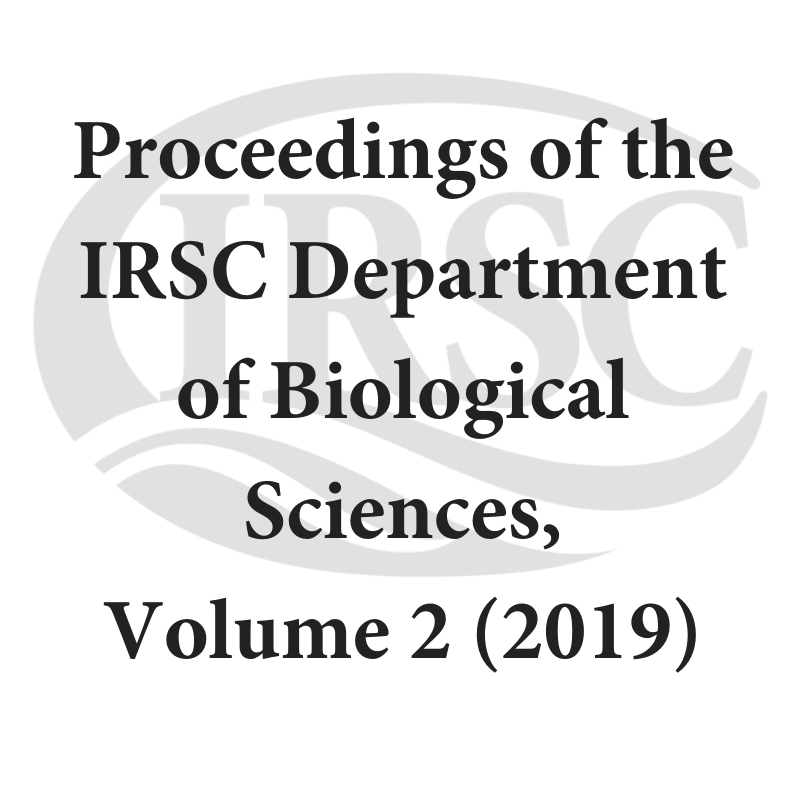 Proceedings of the IRSC Department of Biological Sciences, Volume 2 (2019)